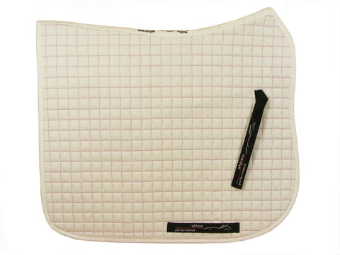 Dressage Cloth with Pink Contrast Stitching