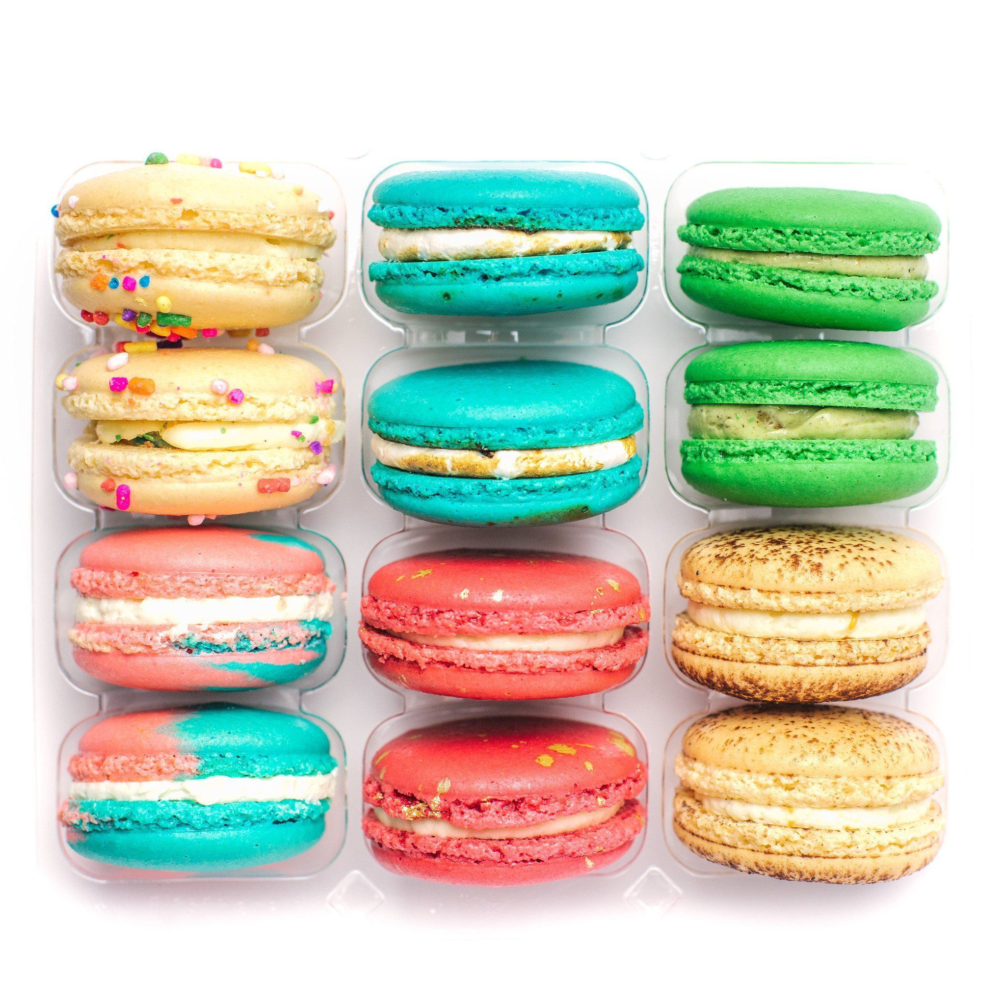 Order french macarons online today home delivery available ma classic box create your own macaron box ma ka rohn urmus Image collections