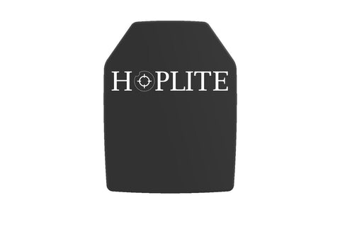 Hoplite Armor LEVEL III SINGLE CURVE SHOOTER PLATE 2