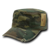 Military Clothing Vintage BDU Fatigue / Cotton Caps Woodland
