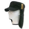 Military Clothing Cotton Foreign Legion Cap/ Flap Cap Black