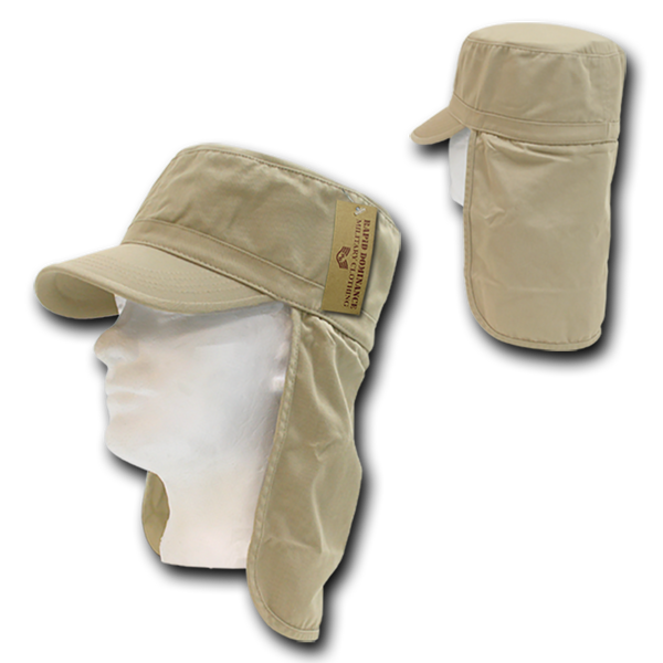 Military Clothing Cotton Foreign Legion Cap/ Flap Cap Khaki