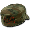 Military Clothing Military Fatigue Zipper Cap Camo