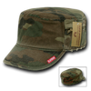 Military Clothing Fatigue Zipper Cap Camo