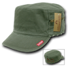 Military Clothing Fatigue Zipper Cap Olive