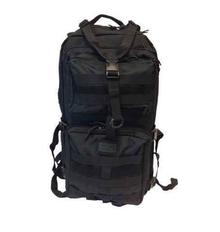 Death Dealer Tactical VENOM 48 Hour Assault Pack Black front