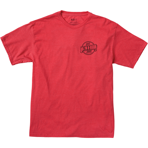 5.11 Tactical Freedom T-Shirt - Red Heather