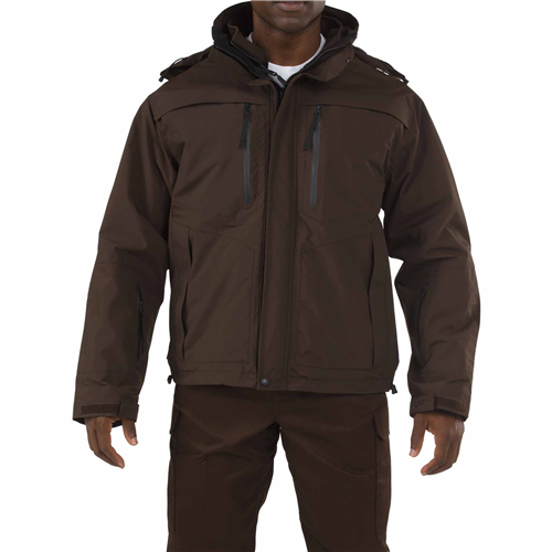 5.11 Tactical Valiant Duty Jacket - Brown