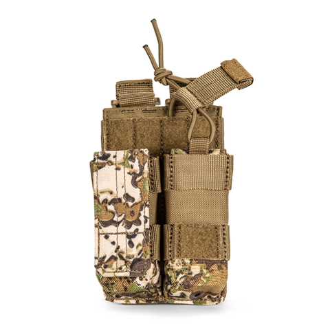 5.11 Tactical Geo7 Double Pistol Pouch - Terrain