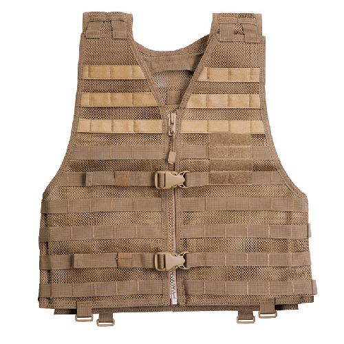 5.11 Tactical Vtac Lbe Tactical Molle Vest - Flat Dark Earth