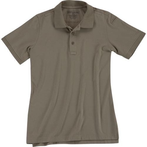 5.11 Tactical Women's Tactical Polo - Silver Tan
