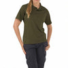 5.11 Tactical Women's Performance Polo - TDU Green