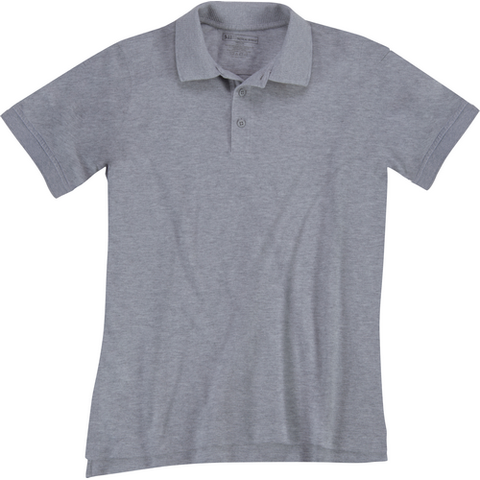 5.11 Tactical Women's Utility Polo - Heather Gray