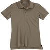 5.11 Tactical Women's Utility Polo - Silver Tan