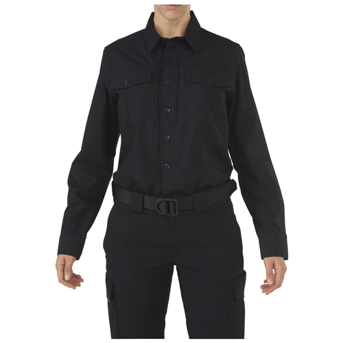 5.11 Tactical Women's Stryke Class-B PDU Long Sleeve Shirt - Midnight Navy