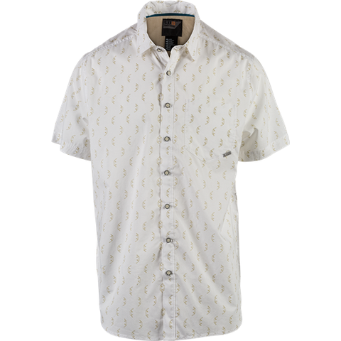 5.11 Tactical Have a Knife Day Short Sleeve Shirt - White
