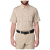 5.11 Tactical Class A Flex-Tac Poly/Wool Twill S/S - Silver Tan