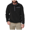 5.11 Tactical Apollo Tech Fleece Tech Shirt - Black