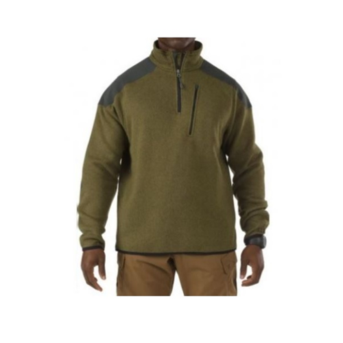 5.11 Tactical Tactical 1/4 Zip Sweater - Field Green