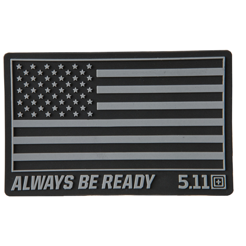 5.11 Tactical USA Patch - Black