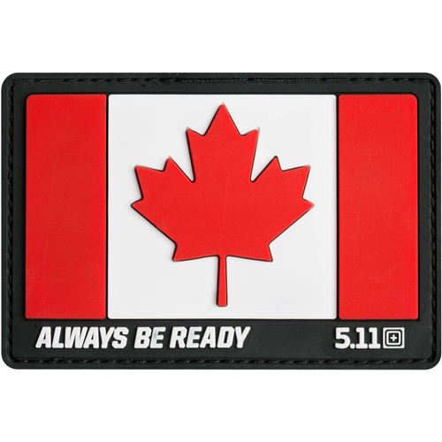 5.11 Tactical Canada Flag Patch - Red
