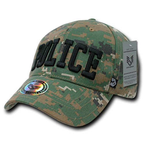 U.S. Police Digital Military/Law Caps