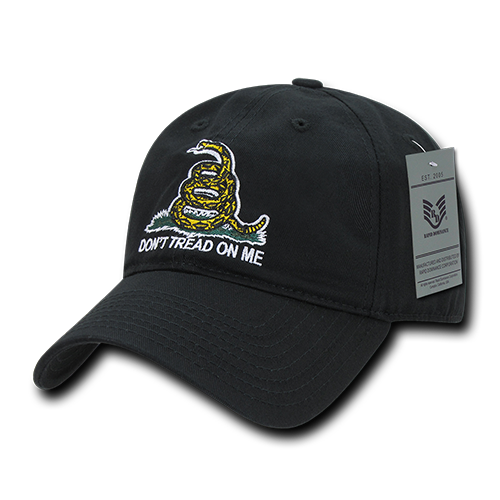 Don't Tread On Me Relaxed Graphic Caps
