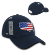 USA Map The Globe Structured Caps