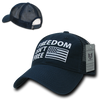 Freedom Isn't Free Relaxed Trucker USA Caps