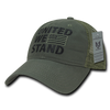 United We Stand Relaxed Trucker USA Caps