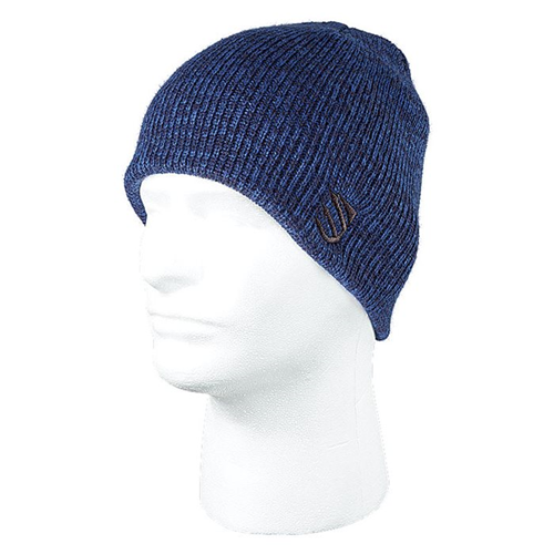 BLACKHAWK! Marled Beanie One Size.Hang Tag - Admiral Blue