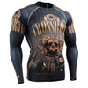 Crossroad Long Sleeve Compression Gym Shirt