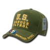 U.S. Border Patrol DeLuxe Law Enf.Caps