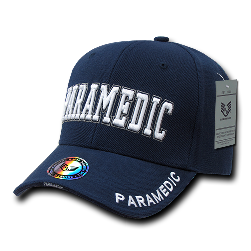 U.S. Paramedic Deluxe Law Enf. Caps