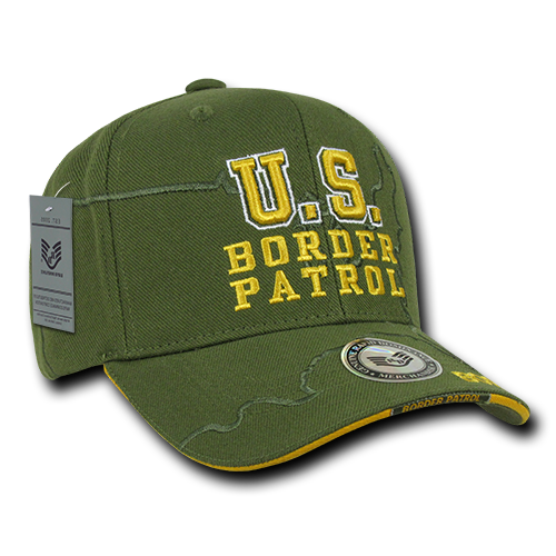 U.S. Border Patrol Shadow Law Enf. Caps