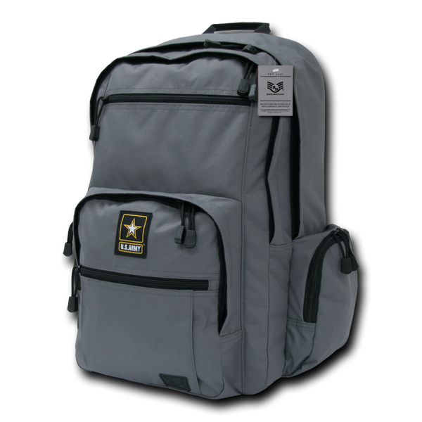 US Army Deluxe Backpack, Grey