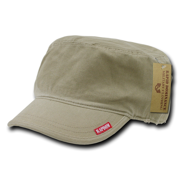 Military Clothing Adjustable Patrol Caps Khaki