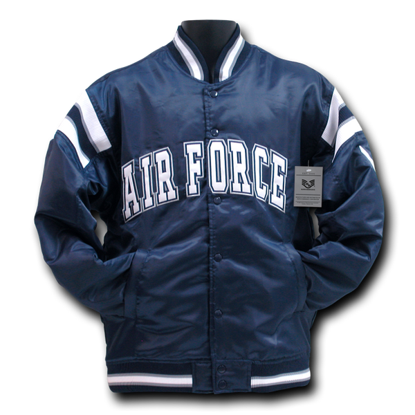 AirForce - Satin Military Coach`s Jacket