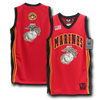 Marines - Military Basketball Jersey