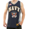 Navy - Military Basketball Jersey