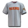 Marines Applique Text Military T-Shirts