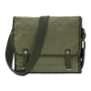 Vintage Military Messenger Bag Olive