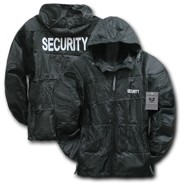 Security Solid Military/ Law Windbreaker