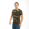 Woodland Camo Cotton T-shirt