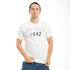 Air Force 1947 Applique Military White T-Shirts