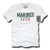 Marines 1775 Applique Military White T-Shirts