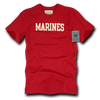 Marines Felt Applique Military T-Shirts