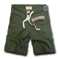 Marines 1775 - Military Applique Fleece Shorts