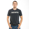 Fire Fighter Felt Applique Military Law T-Shirt