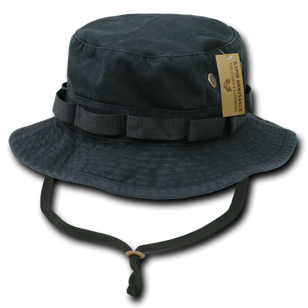 Military Clothing Military Boonie Hats Black